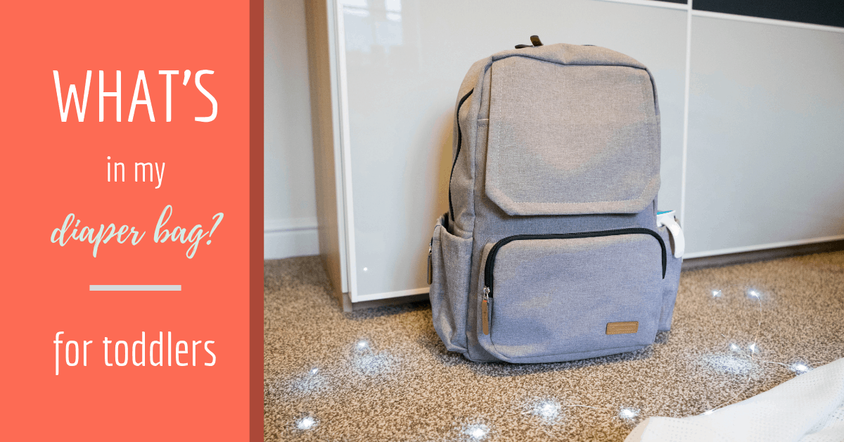 What's in my Diaper Bag - Toddler Edition