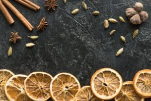 what to do with dried orange slices